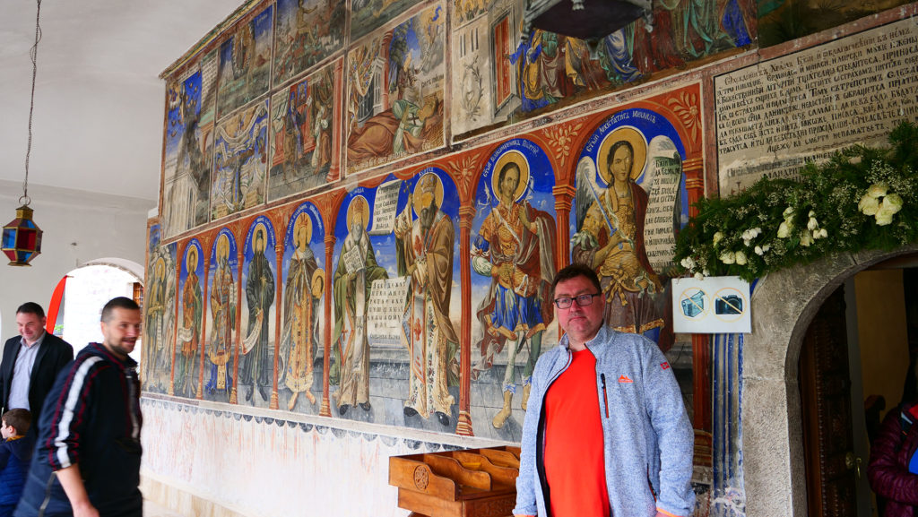 wejście do cerkwi św. Jana Chrzciciela