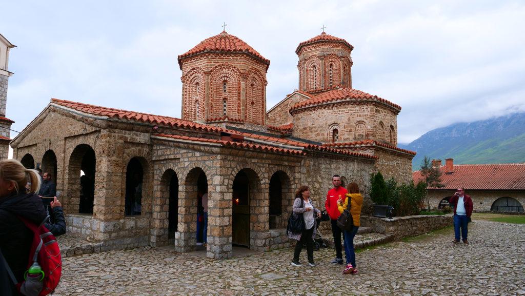 cerkiew św. Nauma - jeden z najważniejszych świątyń prawosławia w Macedonii