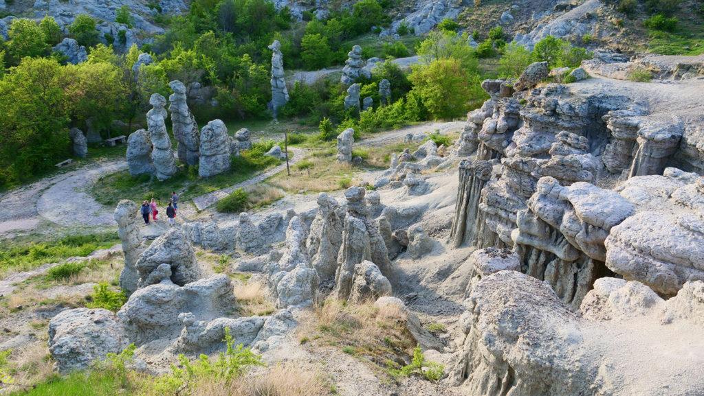 Kamienne Lalki - koło Kuklicy - bardzo ciekawe miejsce