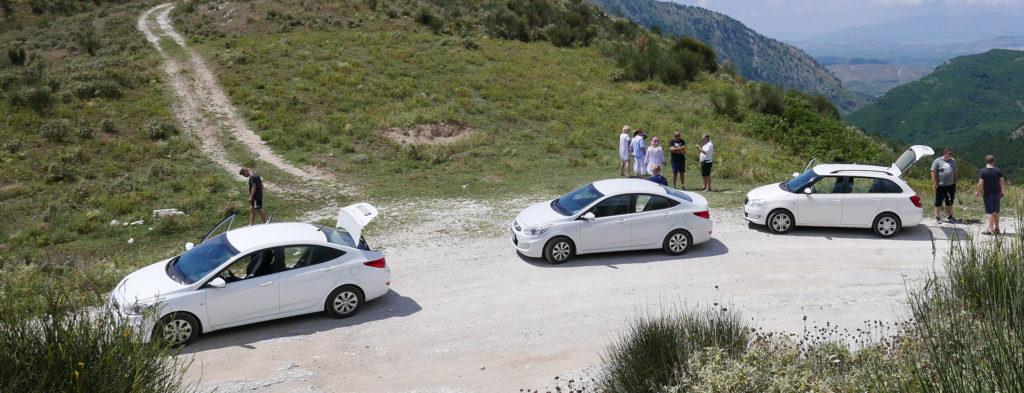 moje samochody wynajęte w Albanii z dostawą do Sarandy :-)